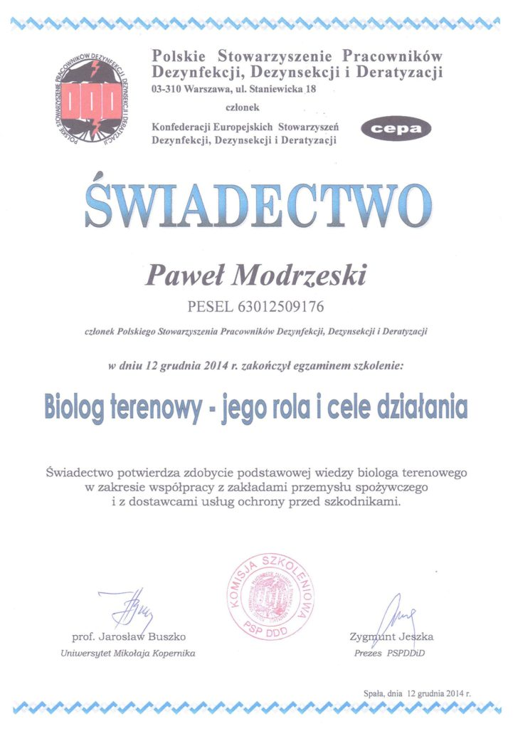 swiadectwo